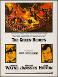 """Movie Posters:War, The Green Berets (Warner Brothers, 1968). Poster (30"""" X 40""""). War....."""