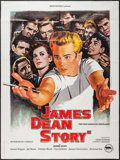 "Movie Posters:Documentary, The James Dean Story (Rene Chateau, R-1980). French Grande (47"" X 63""). Documentary.. ..."