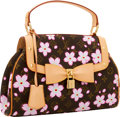 Luxury Accessories:Bags, Louis Vuitton 2004 Limited Edition Monogram Cherry Blossom byTakashi Murakami Sac Retro Bag. ...