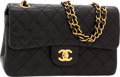 Luxury Accessories:Bags, Chanel Black Quilted Lambskin Leather Small Double Flap Bag withGold Hardware. ...