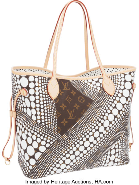 184535320bc Louis Vuitton Limited Edition Infinity Dots by Yayoi Kusama White ...