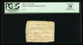 Colonial Notes:North Carolina, Low Serial Number North Carolina April 23, 1761 30s PCGS ApparentVery Fine 30.. ...