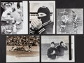 Football Collectibles:Photos, 1960's Green Bay Packers Original Oversized Photographs Lot of 5....