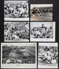 Football Collectibles:Photos, 1960's Green Bay Packers Original Oversized Photographs Lot of 6....