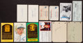 Autographs:Index Cards, Baseball Greats Signed Postcards, Index Cards, Checks, Etc. Lot of 23. ...