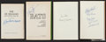 Autographs:Others, Baseball Greats Signed Books Lot Of 4 Including Joe DiMaggio!...