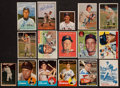 Autographs:Sports Cards, Baseball Greats Signed Card Collection Lot Of 16....