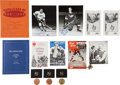 Hockey Collectibles:Programs, 1950's-2000's Hockey Game Programs and Sports Hall of Fame Reception programs/Medals Collection () With Hull, Richard, Howe, L...