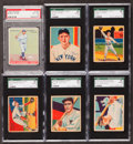 Baseball Cards:Lots, 1930's Goudey and National Chicle Graded Group (6). ...