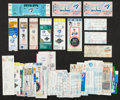 Baseball Collectibles:Tickets, 1970's-90's Toronto Blue Jays Tickets and Stubs Collection (84)Including Opening Game from 1977. ...