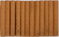 Books:Literature Pre-1900, [Henry Fielding] George Saintsbury, editor. The Works of HenryFielding. London: Navarre, [n.d.]. Twelve small o... (Total: 12Items)