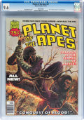 Magazines:Science-Fiction, Planet of the Apes #27 (Marvel, 1976) CGC NM+ 9.6 White pages....