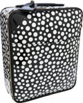 Luxury Accessories:Travel/Trunks, Louis Vuitton Limited Edition Infinity Dots by Yayoi Kusama Black Monogram Vernis Leather Pegase 45 Suitcase. ...