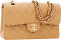 Luxury Accessories:Bags, Chanel Beige Quilted Caviar Leather Medium Double Flap Bag withGold Hardware. ...
