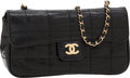Luxury Accessories:Bags, Chanel Black Lizard Mini Flap Bag with Brushed Gold Hardware. ...