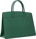 Luxury Accessories:Bags, Hermes 40cm Vert Fonce Ardennes Leather Whitebus Tote Bag. ...