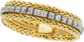 Estate Jewelry:Bracelets, Diamond, Platinum, Gold Convertible Bracelet. ...