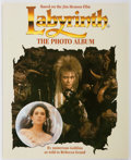 Books:Science Fiction & Fantasy, Rebecca Grand. Labyrinth the Photo Album Signed by the Film's Conceptual Designer Brian Froud. Virgin Books, 198...