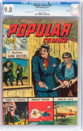 Golden Age (1938-1955):Adventure, Popular Comics #99 Rockford pedigree (Dell, 1944) CGC VF/NM 9.0 Cream to off-white pages....