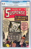 Silver Age (1956-1969):Mystery, Tales of Suspense #35 (Marvel, 1962) CGC VG 4.0 Off-white to whitepages....