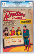 Silver Age (1956-1969):Superhero, Adventure Comics #247 (DC, 1958) CGC FR/GD 1.5 Cream to off-white pages....