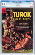 Silver Age (1956-1969):Adventure, Turok, Son of Stone #17 (Dell, 1959) CGC NM- 9.2 Off-white pages....