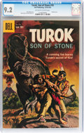 Silver Age (1956-1969):Adventure, Turok, Son of Stone #18 (Dell, 1959) CGC NM- 9.2 Off-white to white pages....