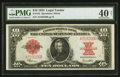 Large Size:Legal Tender Notes, Fr. 123 $10 1923 Legal Tender PMG Extremely Fine 40 Net.. ...