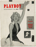 Movie/TV Memorabilia:Memorabilia, A Marilyn Monroe-Related First Issue of 'Playboy' Magazine,1953....