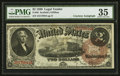 Large Size:Legal Tender Notes, Fr. 50 $2 1880 Legal Tender Courtesy Autograph PMG Choice Very Fine 35.. ...