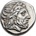 Ancients:Greek, Ancients: MACEDONIAN KINGDOM. Philip II (359-336 BC). ARtetradrachm (24mm, 14.29 gm, 6h). ...