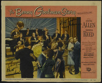 """The Benny Goodman Story (Universal International, 1956). Lobby Card (11"""" X 14""""). Musical. Directed by Valentin..."""