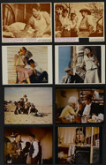 "Movie Posters:Crime, Bonnie and Clyde Lot (Warner Brothers, 1967). Lobby Cards (2) (11""X 14"") and Color Stills (3) (10.75"" X 13.75""), (1) (10.75...(Total: 8 Items)"