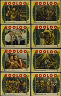 """Movie Posters:Adventure, Booloo (Paramount, 1938). Lobby Card Set of 8 (11"""" X 14"""").Adventure. Directed by Clyde P. Elliott. Starring Colin Tapley,J... (Total: 8 Items)"""