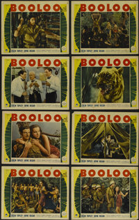 """Booloo (Paramount, 1938). Lobby Card Set of 8 (11"""" X 14""""). Adventure. Directed by Clyde P. Elliott. Starring C..."""