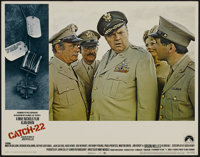 """Catch-22 (Paramount, 1970). Lobby Cards (4) (11"""" X 14""""). Comedy. Directed by Mike Nichols. Starring Alan Arkin..."""