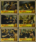 """Movie Posters:Comedy, The Devil and Miss Jones (RKO, 1941). Lobby Cards (6) (11"""" X 14""""). Comedy. Directed by Sam Wood. Starring Jean Arthur, Rober... (Total: 6 Items)"""