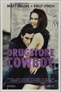 "Movie Posters:Crime, Drugstore Cowboy (Avenue Pictures, 1989). One Sheet (27"" X 41"").Crime Drama. Directed by Gus Van Sant. Starring Matt Dillon..."