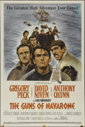"""Movie Posters:Adventure, The Guns of Navarone (Columbia, 1961). One Sheet (27"""" X 41""""). War.Directed by J. Lee Thompson. Starring Gregory Peck, David..."""