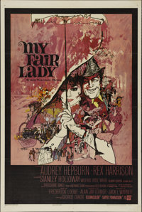 """My Fair Lady (Warner Brothers, 1964). One Sheet (27"""" X 41""""). Musical Comedy. Directed by George Cukor. Starrin..."""