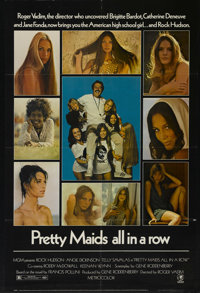 """Pretty Maids All in a Row (MGM, 1971). One Sheet (27"""" X 41""""). Crime Comedy. Directed by Roger Vadim. Starring..."""