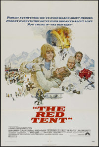 "The Red Tent (Paramount, 1971). One Sheet (27"" X 41""). Adventure. Directed by Mikhail Kalatozov. Starring Sean..."