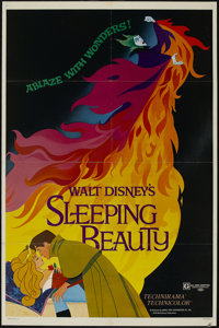 """Sleeping Beauty (Buena Vista, R-1979). One Sheet (27"""" X 41"""") Style A. Animated Fantasy. Directed by Clyde Gero..."""