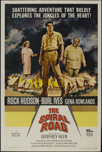 "The Spiral Road (Universal, 1962). One Sheet (27"" X 41""). Adventure. Directed by Robert Mulligan. Starring Roc..."