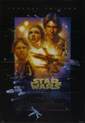 "Movie Posters:Science Fiction, Star Wars (20th Century Fox, R-1997). One Sheet (27"" X 41"").Special Edition Style B. Sci-Fi Adventure. Directed by George L..."