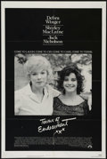 "Movie Posters:Academy Award Winner, Terms of Endearment (Paramount, 1983). One Sheet (27"" X 41"").Comedy Drama. Directed by James L. Brooks. Starring Debra Wing..."