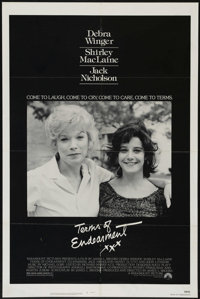 """Terms of Endearment (Paramount, 1983). One Sheet (27"""" X 41""""). Comedy Drama. Directed by James L. Brooks. Starr..."""