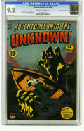 Golden Age (1938-1955):Horror, Adventures Into the Unknown #6 Mile High pedigree (ACG, 1949) CGCNM- 9.2 Off-white to white pages. Before Ogden Whitney too...