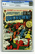 Golden Age (1938-1955):Horror, Adventures Into the Unknown #15 Mile High pedigree (ACG, 1951) CGCVF+ 8.5 Off-white to white pages. This sparkling copy fro...