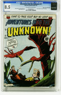 Golden Age (1938-1955):Horror, Adventures Into the Unknown #17 Mile High pedigree (ACG, 1951) CGCVF+ 8.5 Off-white to white pages. This issue included a s...